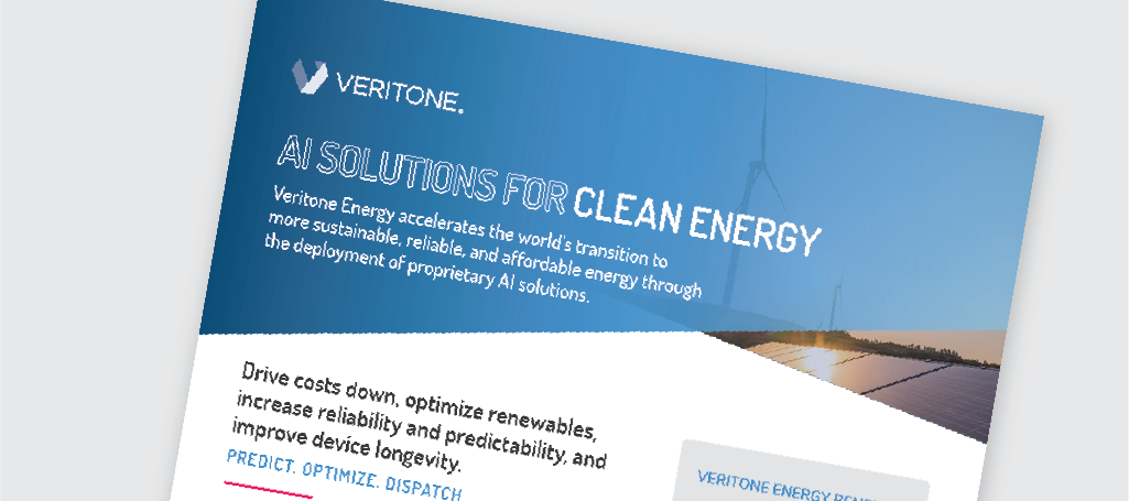 Veritone Energy One Sheet