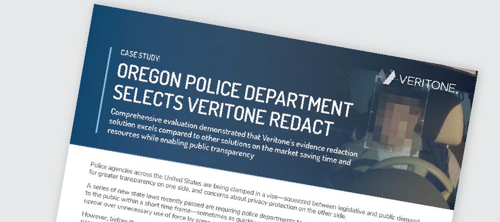Oregon PD Case Study
