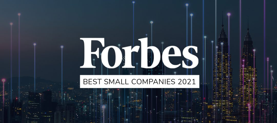Forbes Best Small Companies 2021