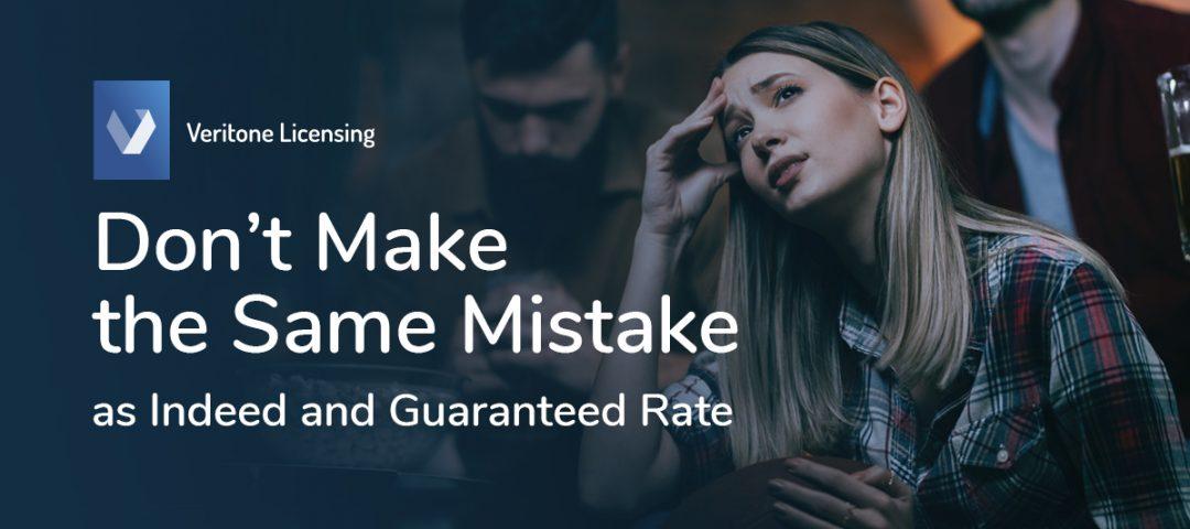 Don't Make the Same Mistake