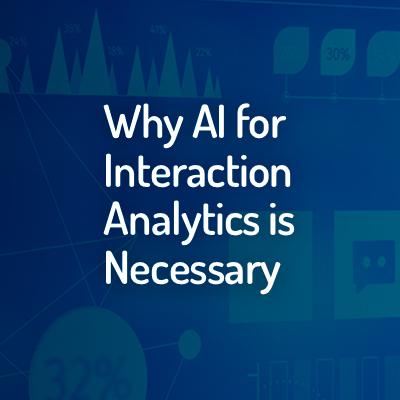 Interaction Analytics